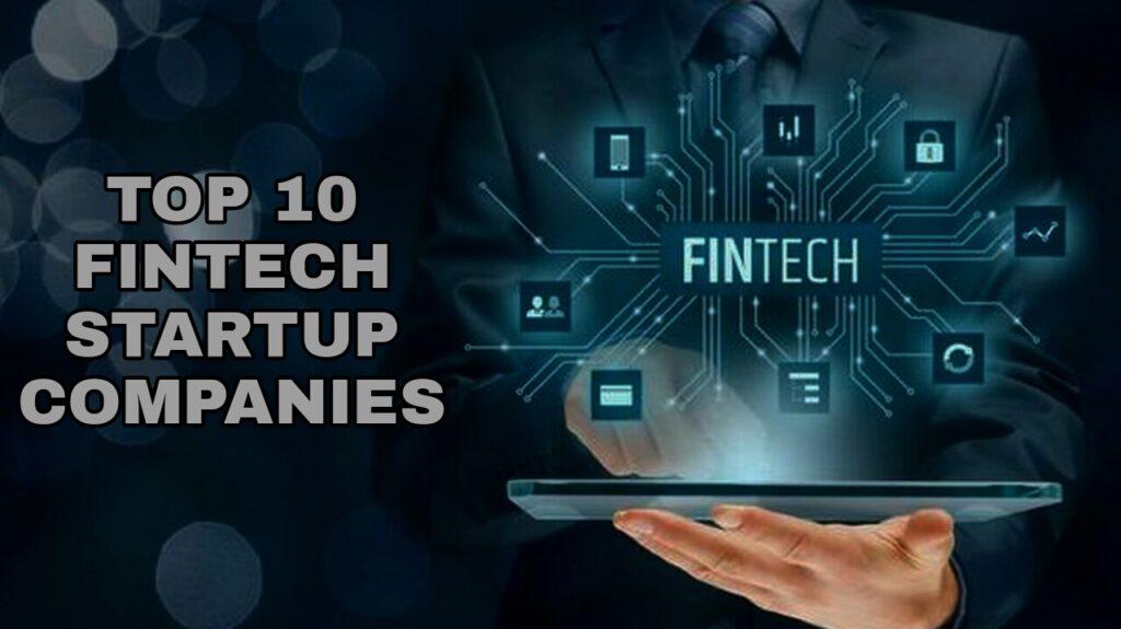 Fintech startup companies