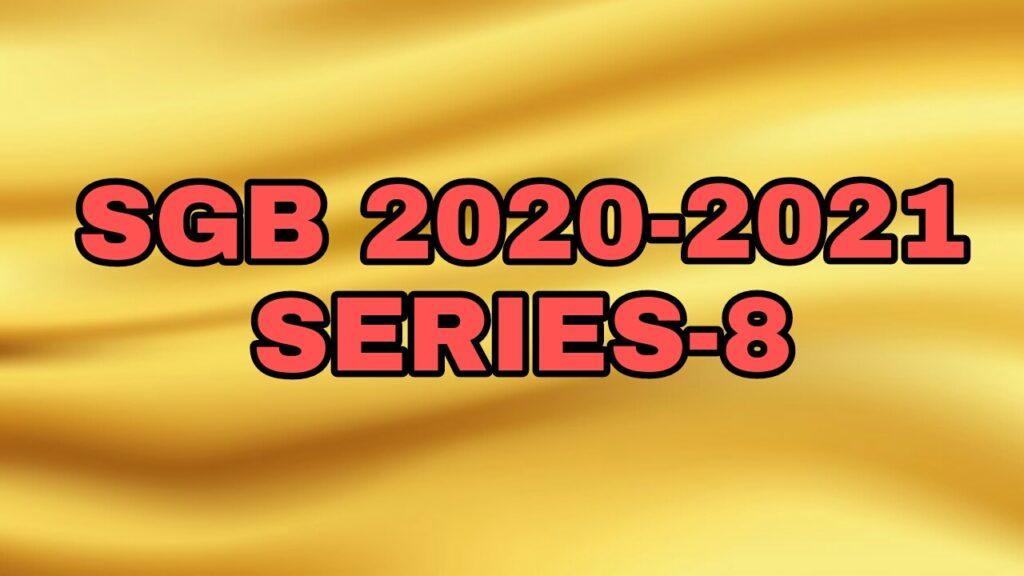 Sovereign Gold Bonds 2020-2021 Series 8
