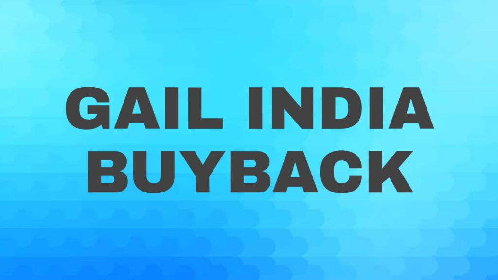 Gail India Buyback