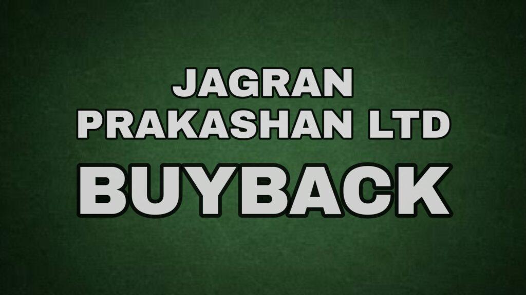 Jagran Prakashan Buyback
