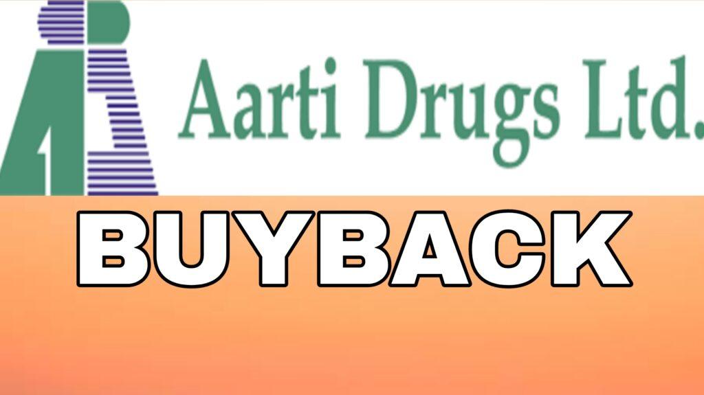 Aarti Drugs Buyback