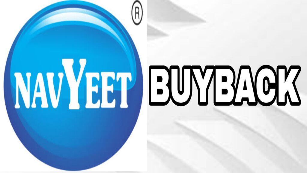 Navneet Education Buyback